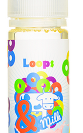 &Milk's Loops E-Juice Review
