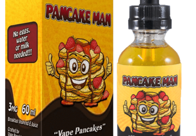 Pancake Man E-Liquid by Vape Breakfast Classics Review