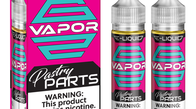 Pastry Parts E-Liquid by G2 Vapor Review