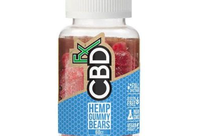 CBDfx's CBD Gummy Bears Review