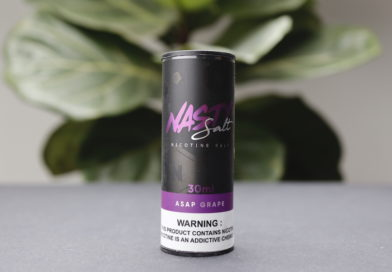 Nasty Salt Asap Grape Nicotine Salt Review
