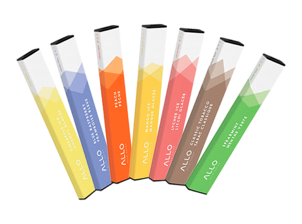 Allo Bar Disposable Ejuice Flavors Review - A Plethora of Tasty Flavors at Your Fingertips
