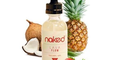 Lava Flow E-liquid by Naked 100 Review