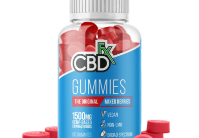 CBD Gummy Bears 1500mg by CBDfx Review