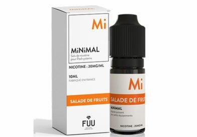 Fruit Medley Nic Salt E-liquid by Minimal Review
